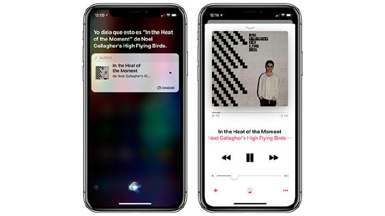 saber canciones siri iphone