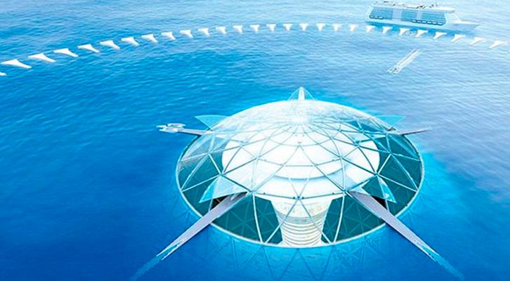 Ocean Spiral: el proyecto de ciudad acuática