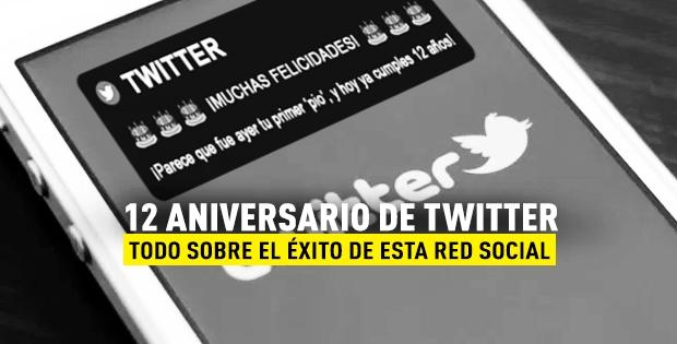 12 aniversario de Twitter