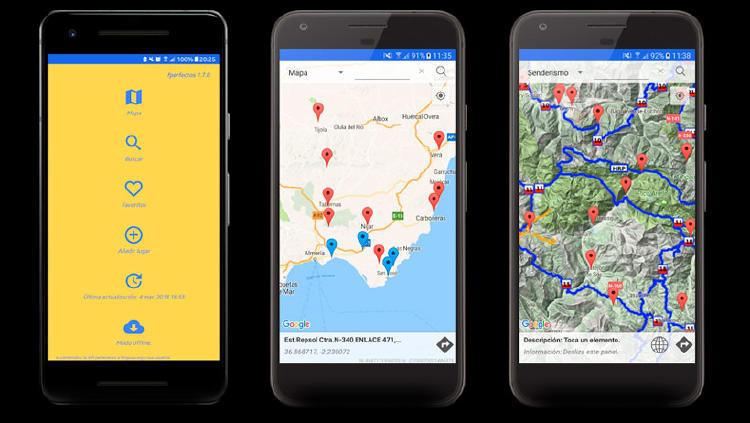rutas caravana app