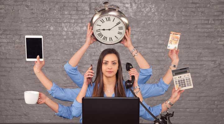 Tips para afrontar con éxito el multitasking