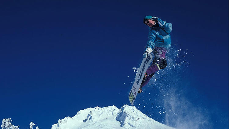 foto snowboard nieve