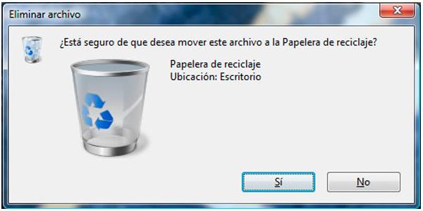 limpiar pc borrar archivos papelera de reciclaje