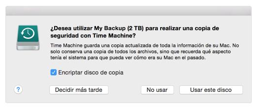 copia de seguridad en MAC