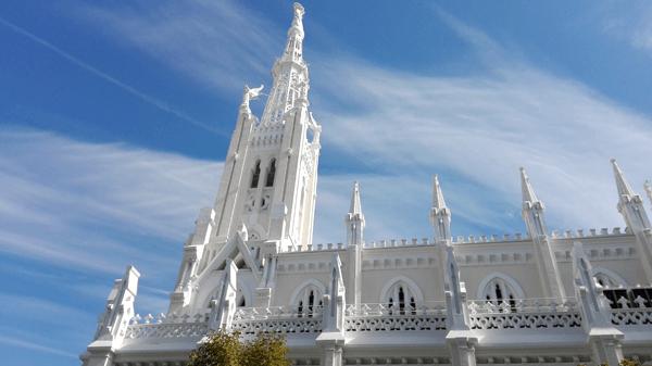 Foto iglesia tomada con Huawei P8 Lite