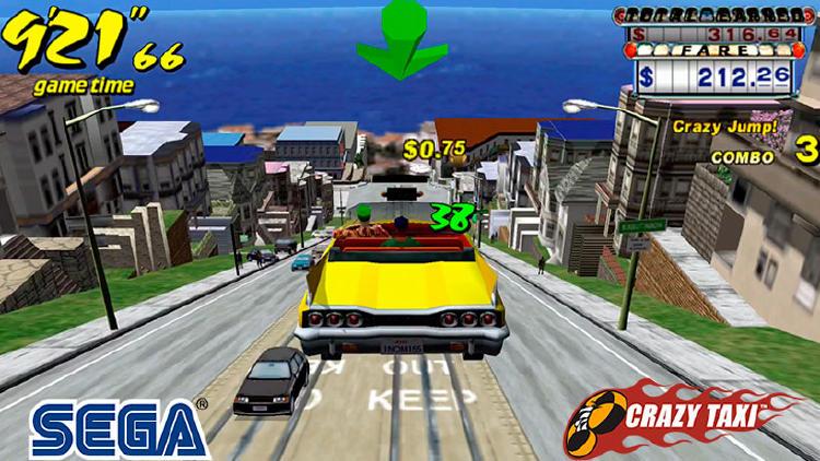 crazy taxi juegos retro movil