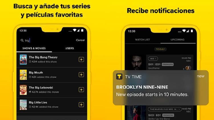 seguir series apps