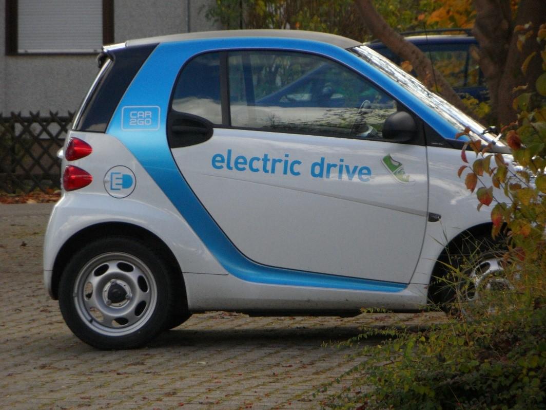 Coche eléctrico. Carsharing en España