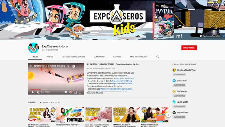 experimentos caseros niños youtube