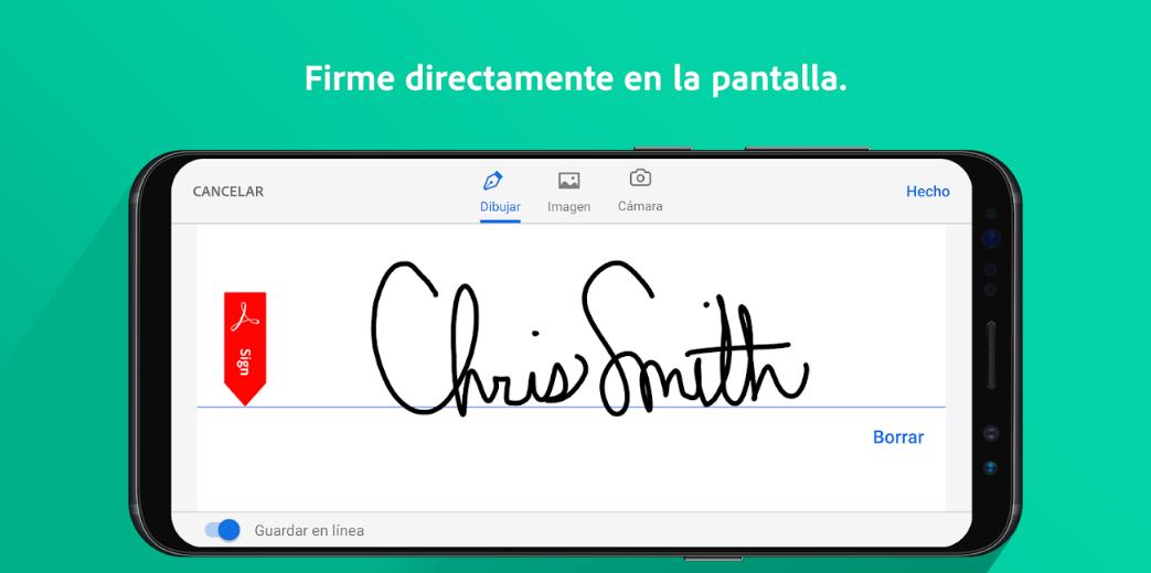 firmar documentos