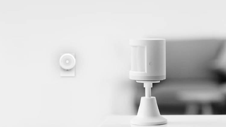 sensor de movimiento fuera de casa