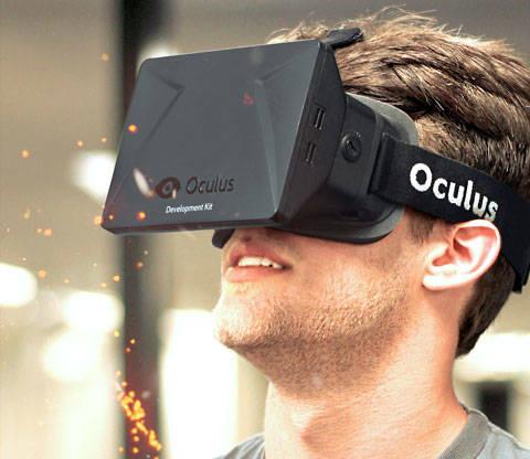 Chico con Oculus Rift