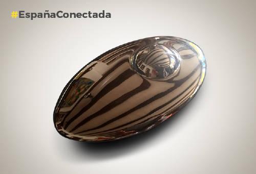 Meteorito sencillo, plástico, Claudia Stilianopoulos