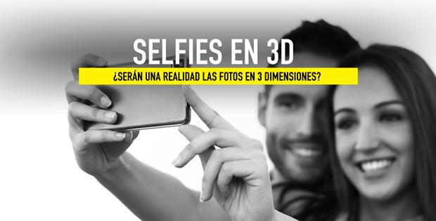 características selfies en 3D