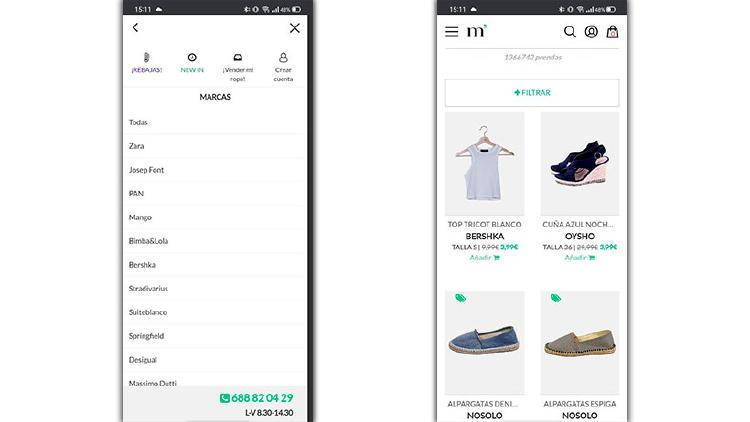 micolet app vender ropa