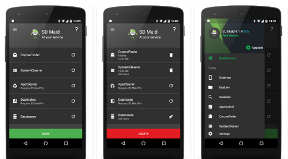 ¿Cuáles son las mejores apps para limpiar tu móvil? | SD Maid