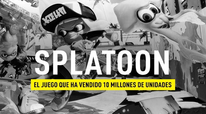 Splatoon ha vendido millones de unidades