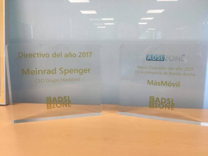Premios ADSLZone MÁSMÓVIL