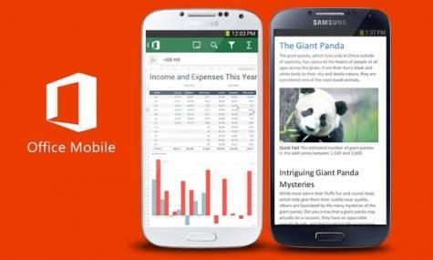 apps imprescindibles smartphone - Office para móvil