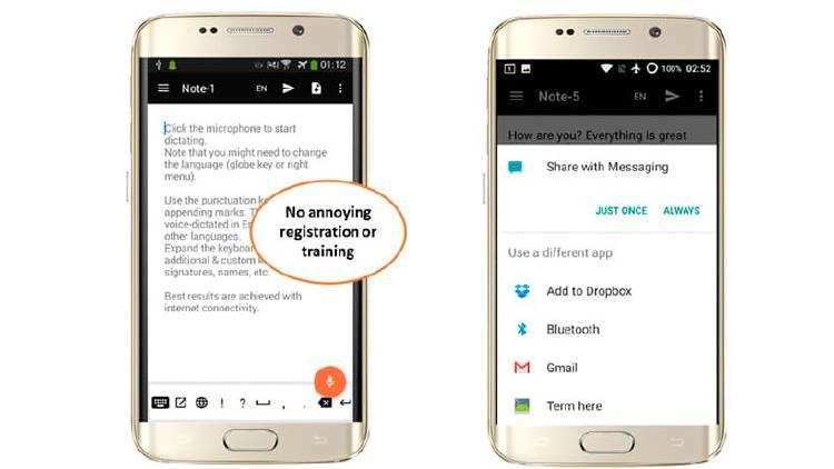 Cómo transcribir tu voz en texto, también en WhatsApp