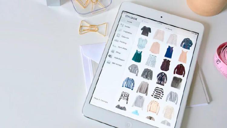 stylebook organizar ropa