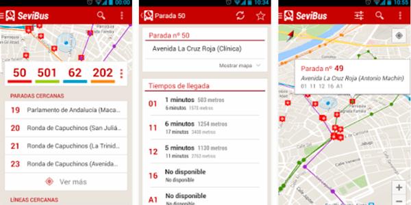 app autobuses sevilla