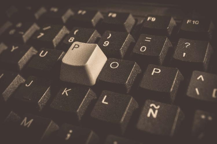 Teclas de teclado