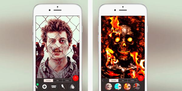 app para halloween   zombify app