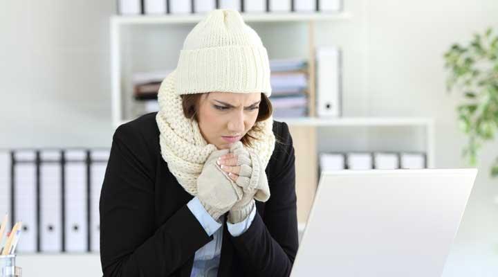 Temperatura en el trabajo
