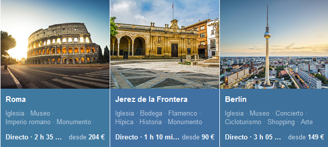 elegir destino en google flights