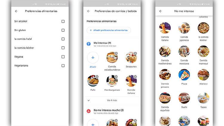 comida google maps