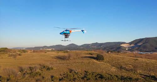 Dron contra-incendios es una iniciativa clave para los sistemas de extinción de incendios. Gracias a la tecnología 5G de Grupo MASMOVIL, que utiliza nuestra frecuencia licenciada de 2,6GHz, ya se está mejorando las labores de extinción de incendios.