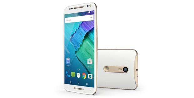 captura de pantalla con Motorola