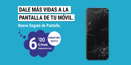 Seguro Pantallas móvil grupo MASMOVIL