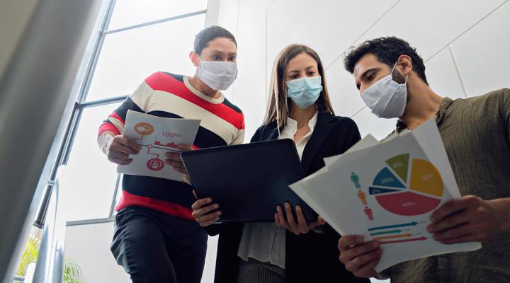 Consejos y estrategias de empresa par superar el coronavirus
