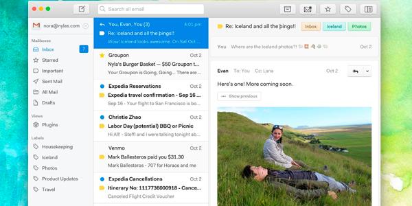 Los cinco mejores gestores de email - Nylas