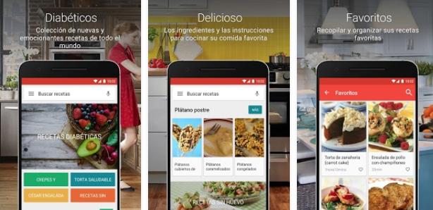 app para diabéticos | recetas para diabeticos libres