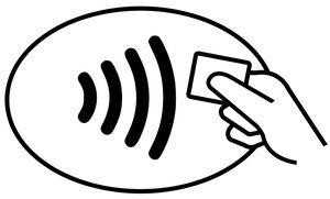 Pago con tarjeta contactless