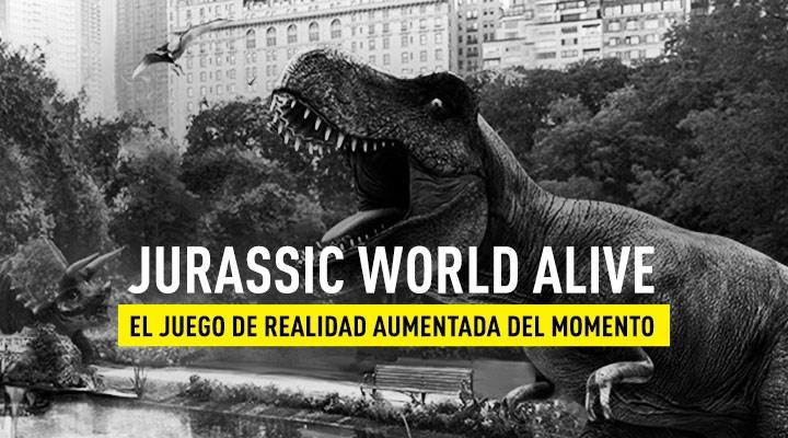 Jurassic World Alive AR