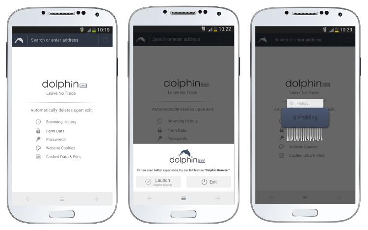 ¿Qué navegador es mejor para Android? | dolphin zero
