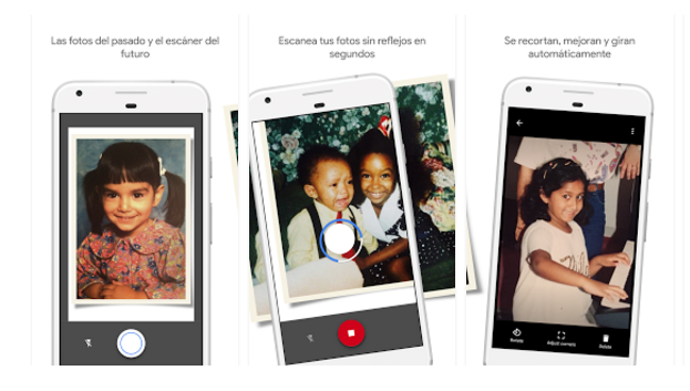 escanear fotos en papel con app photoscan
