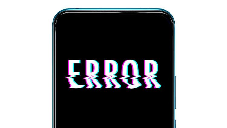 problemas movil android error