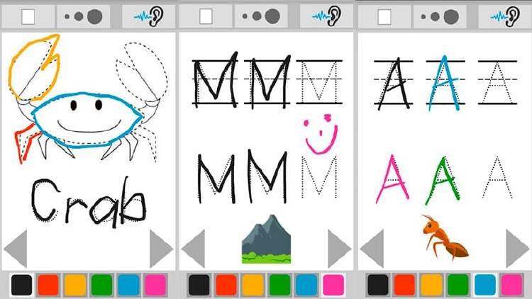 Dibujar letras