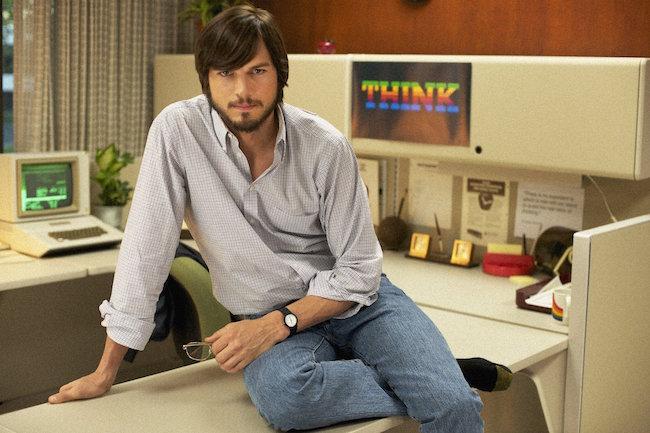 Kutcher en pelicula steve jobs