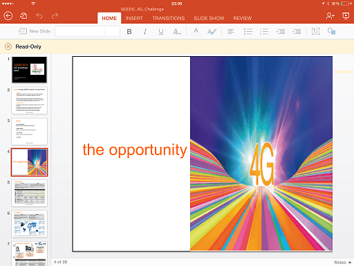 Cuando el Imperio no es tan malo, Microsoft Office para iPad - Tony Ramose