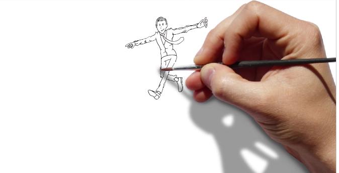 programa para hacer presentaciones corporativas vídeo scribe