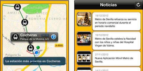 app metro de sevilla