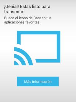 configurar Google Chrome Chromecast | Chromecast conectado