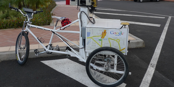 las bicicletas google street view
