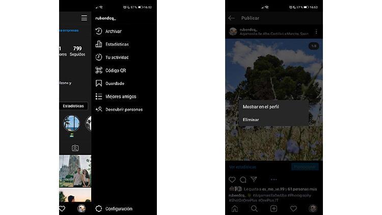 recuperar fotos archivo instagram